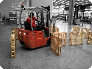 Truck Pallet Stacking